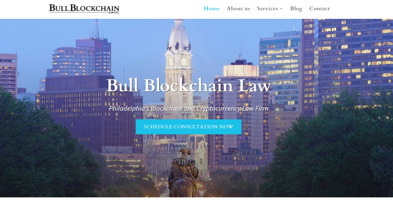 Bull Blockchain Law, LLC is Philadelphia's first blockchain and cryptocurrency law firm.